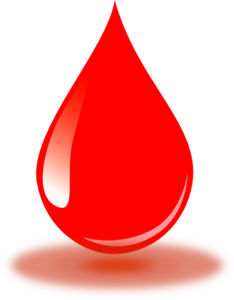 Blood clipart clip art. Real red drop at