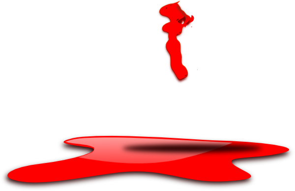 Clip art at clker. Blood puddle png