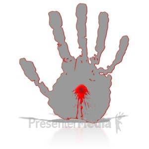 Blood clipart finger clipart. With cross presentation great