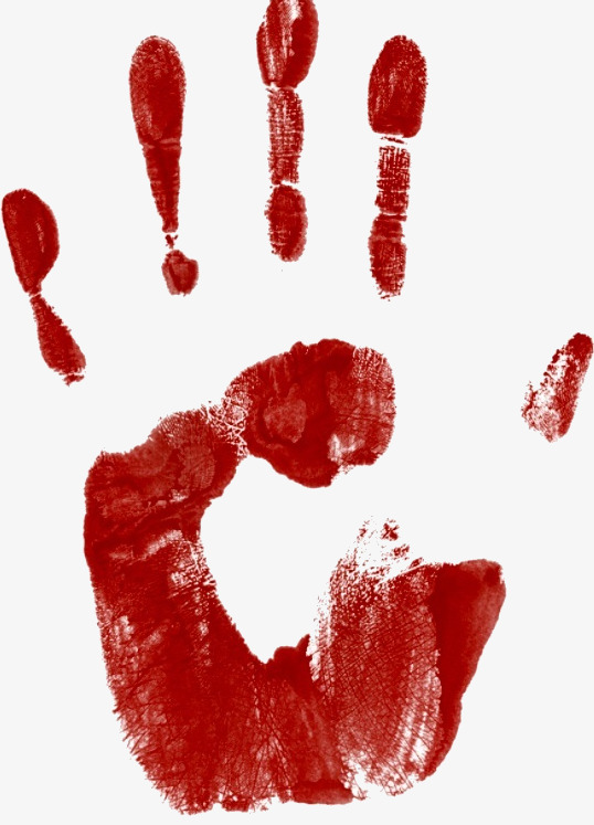 Blood clipart handprint. Fingerprints png image and