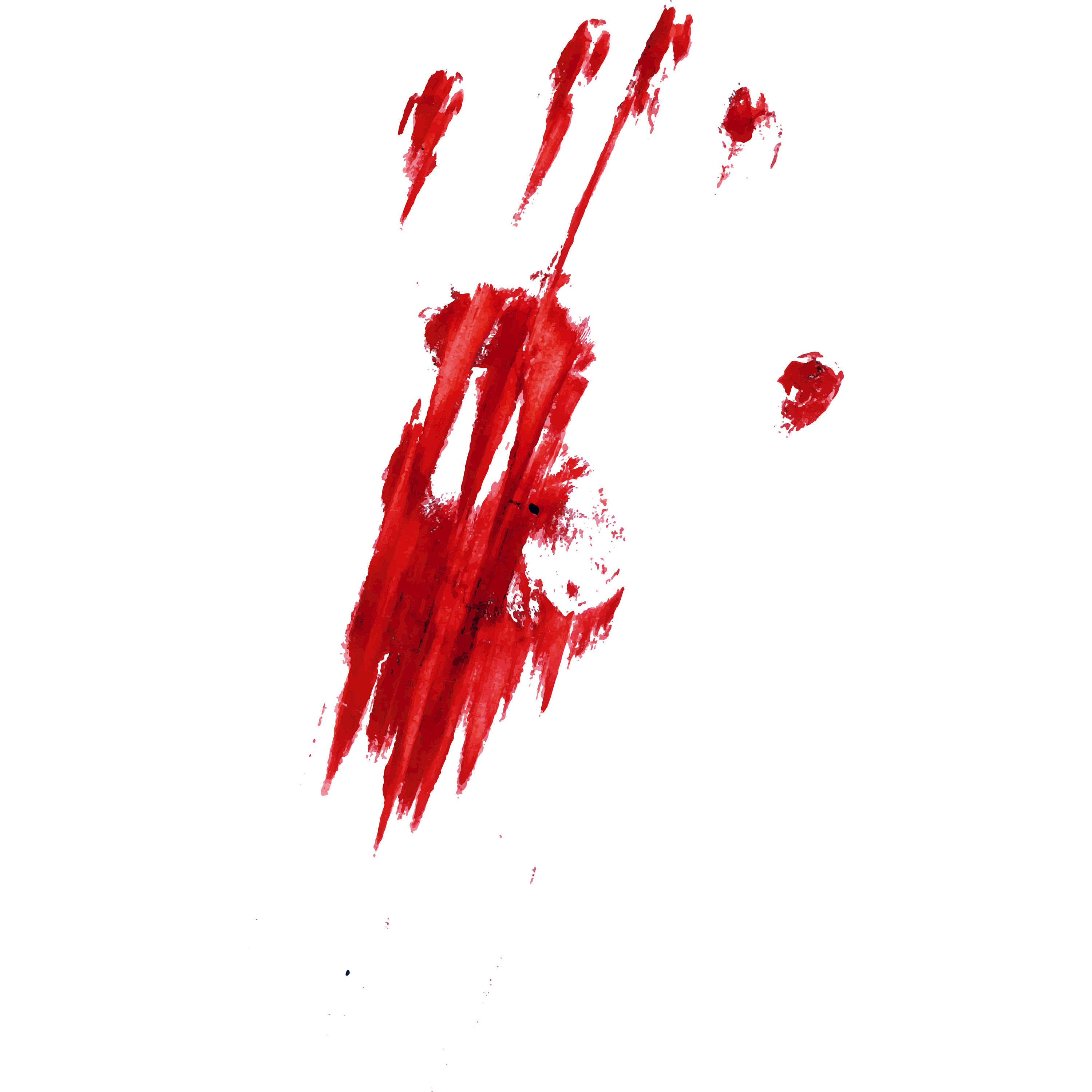 Blood clipart handprint. Bloody svg hand this