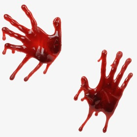 Red png image and. Blood clipart handprint