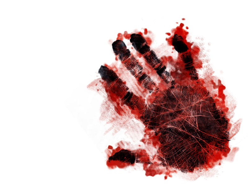 Blood clipart handprint. Group of bloody wallpaper