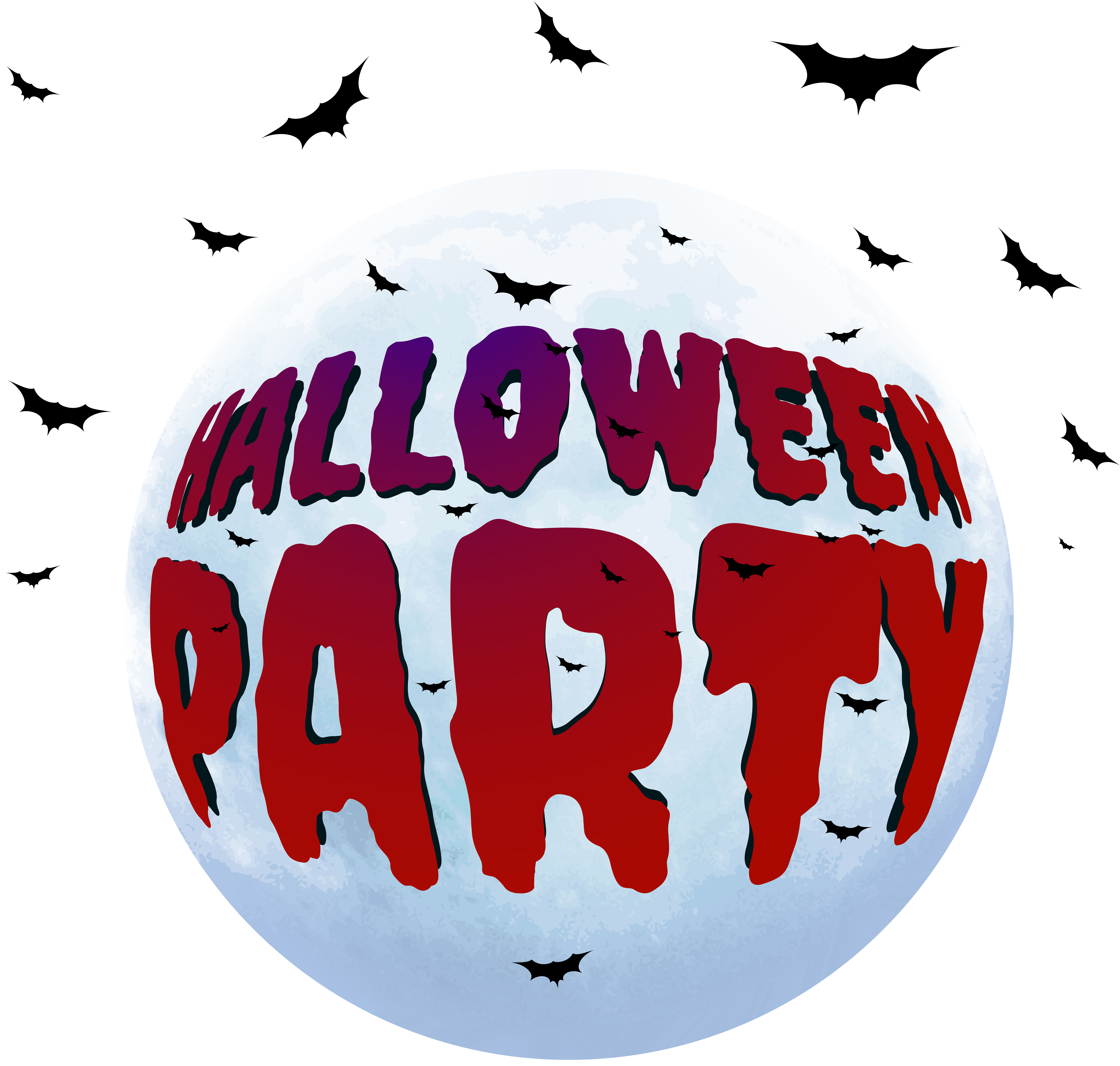 Halloween party png clip. Blood clipart high quality