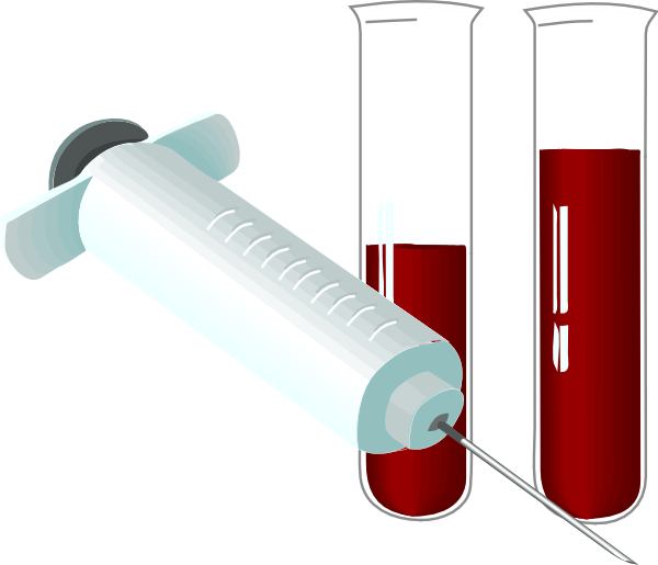 Laboratory analysis clip art. Patient clipart diagnostic test