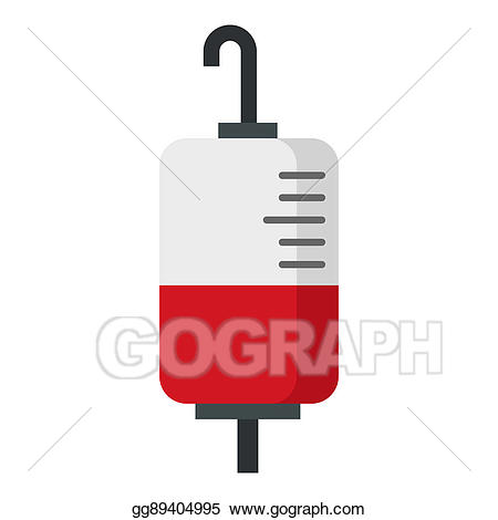 Blood clipart package. Stock illustration for transfusion