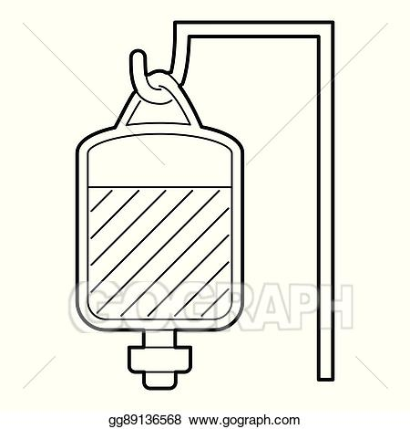 Blood clipart package. Vector illustration for transfusion