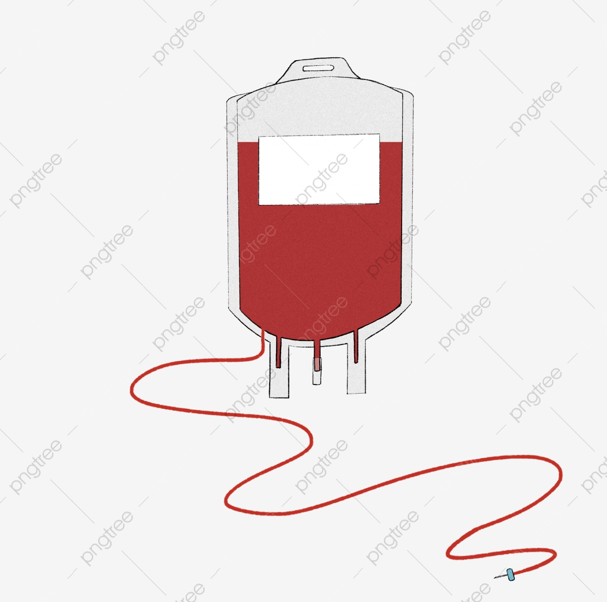 Red transfusion pack white. Blood clipart package