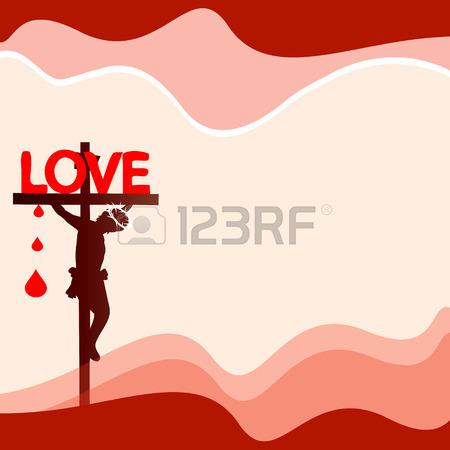 Blood clipart silhouette. Jesus clip art at