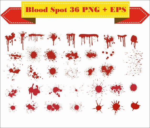 Blood clipart silhouette. Spots open crime bleed