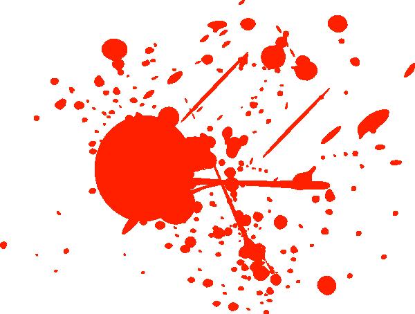 Blood splater
