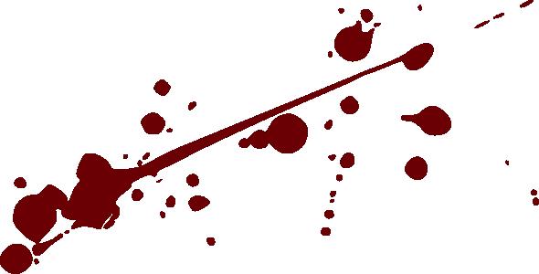 Pin by dan lewis. Blood clipart splotch