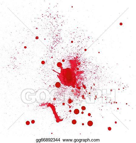 Stock illustration spot clip. Blood clipart splotch
