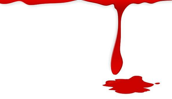 Gore red bloodshot a. Blood clipart splotch