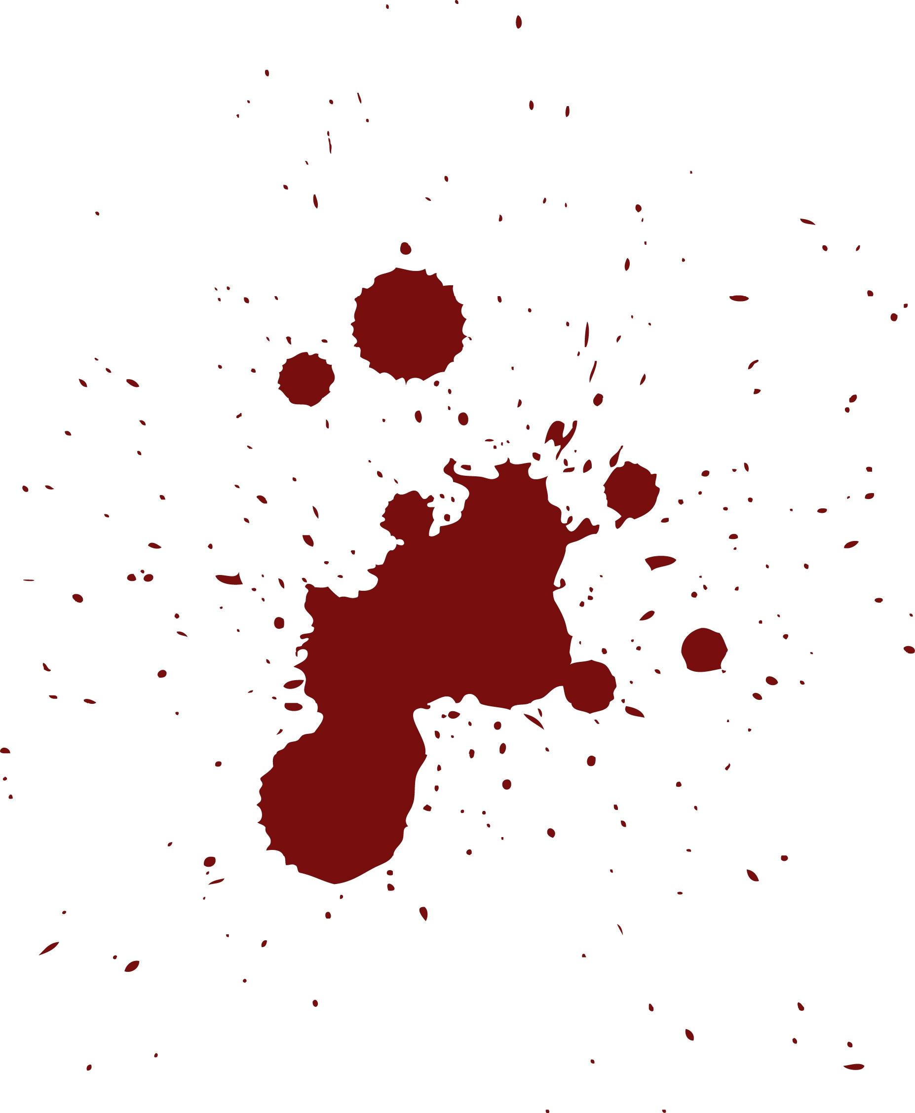 Paint cliparts zone . Blood clipart splotch