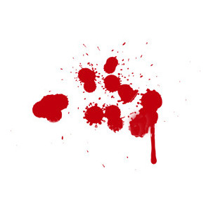 Blood clipart transparent. Splat