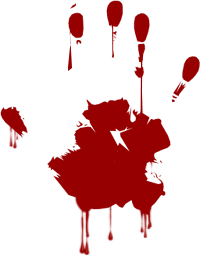 Blood clipart transparent. Hand png stickpng
