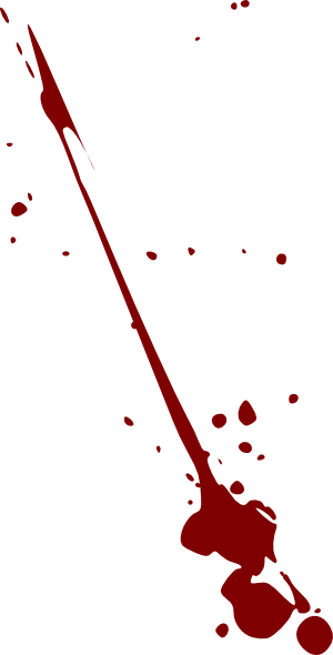 Splat . Blood clipart vector