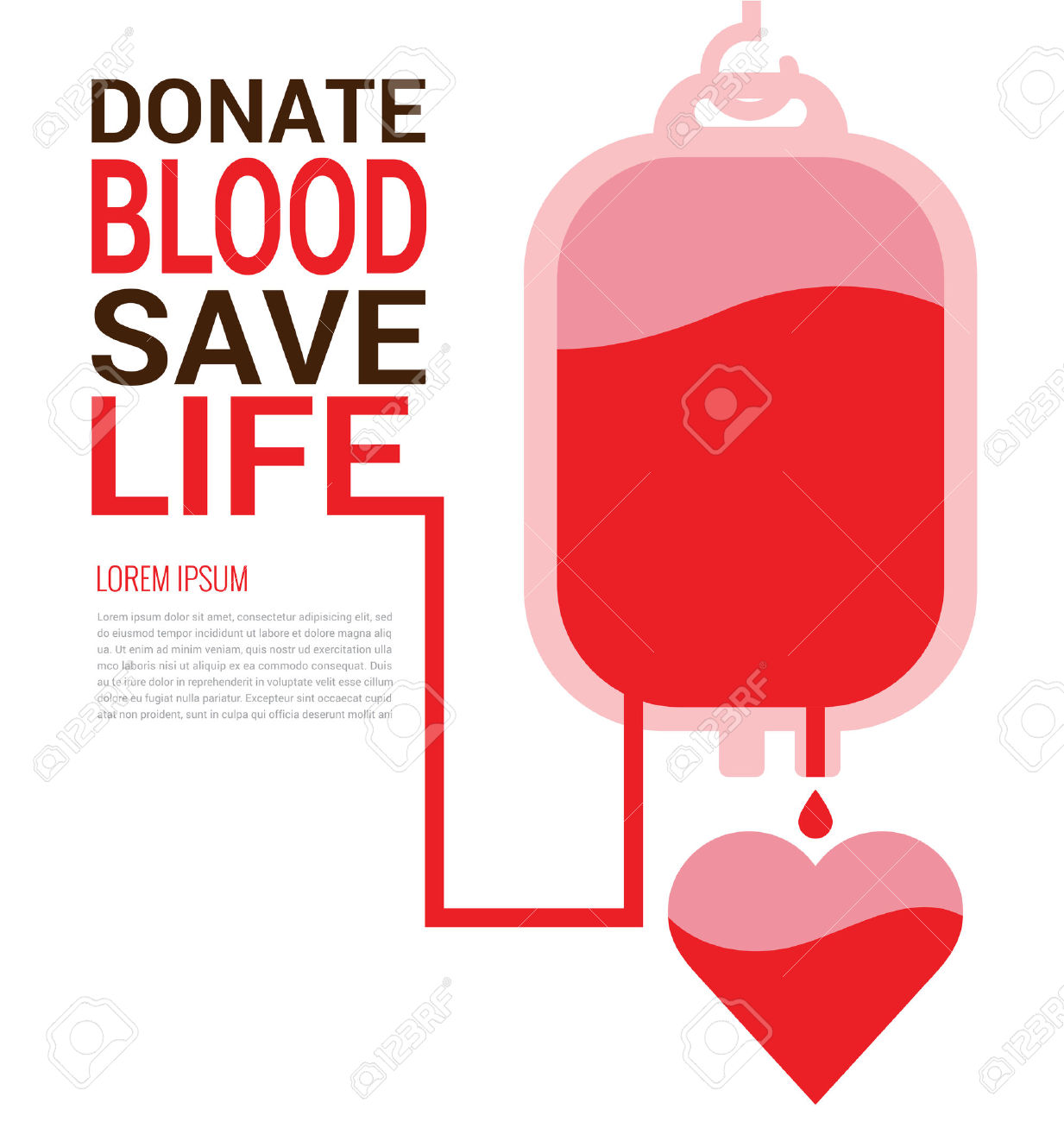 Blood clipart vector. Poster donation pencil and