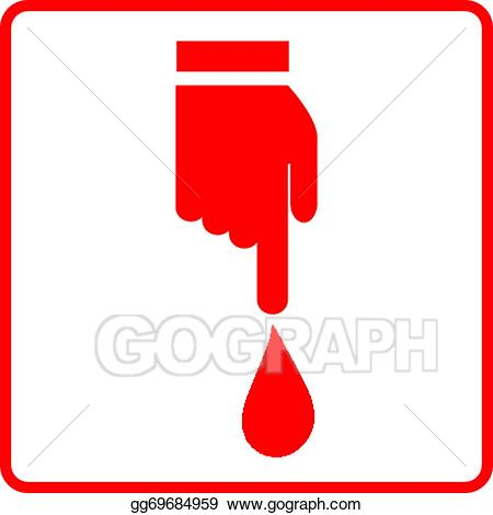 Blood clipart vector. Art donation sign eps