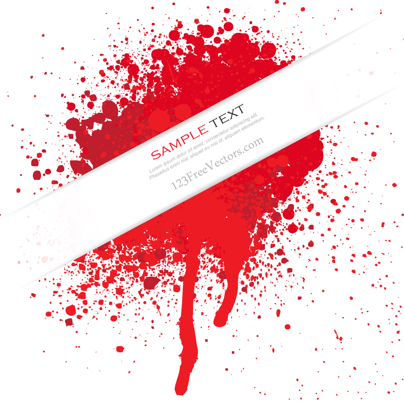 Splatter free download vectors. Blood clipart vector