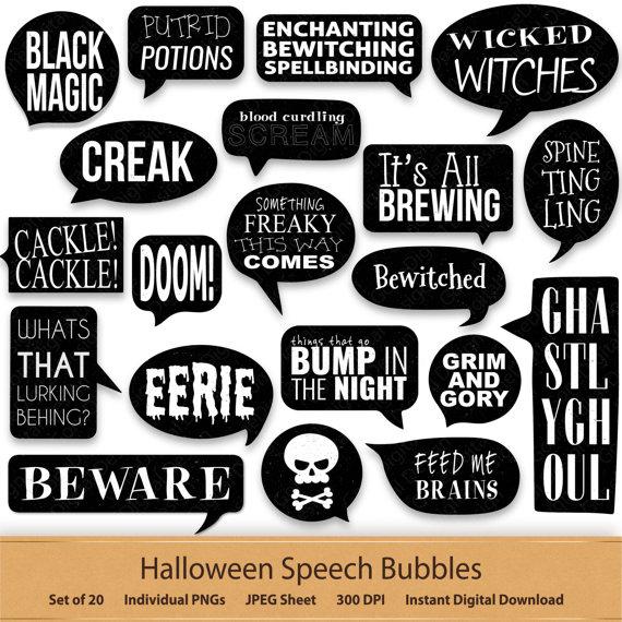 Digital speech bubbles black. Blood clipart word