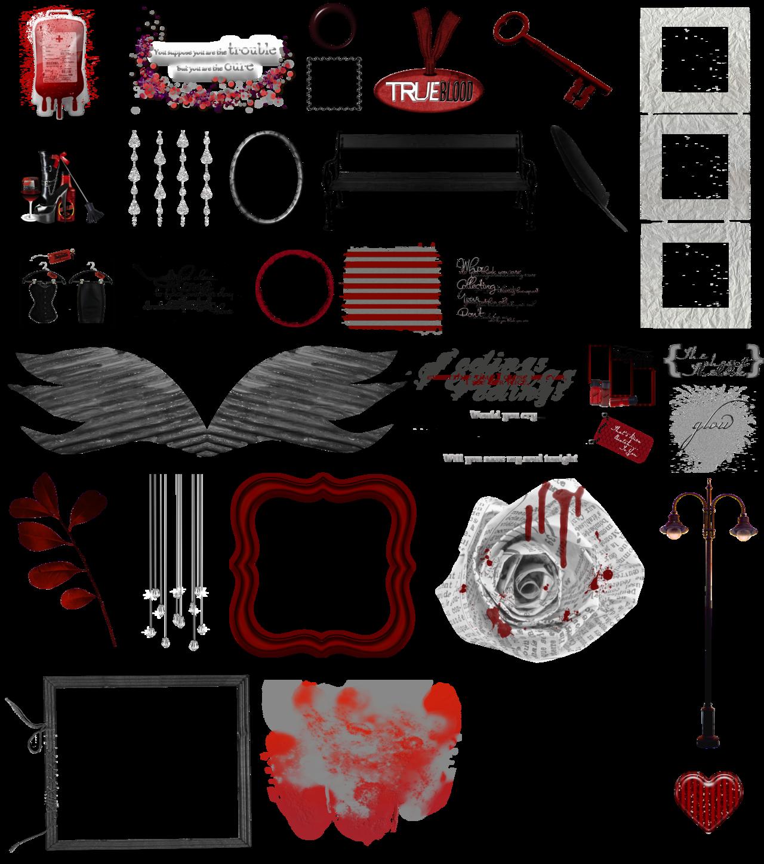 Blood clipart word. True vampire art clear