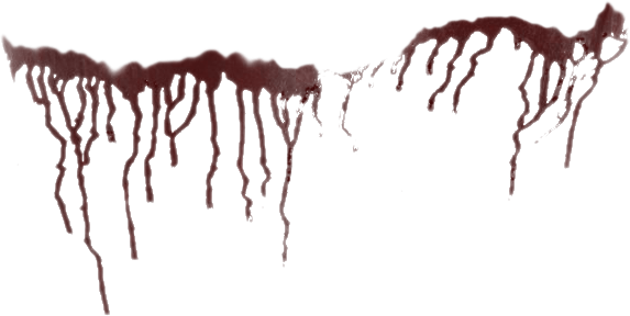Blood drips png. Splatter by da joint
