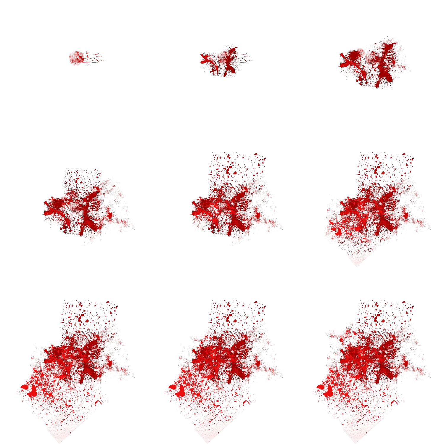 Blood explosion png.  days in hell
