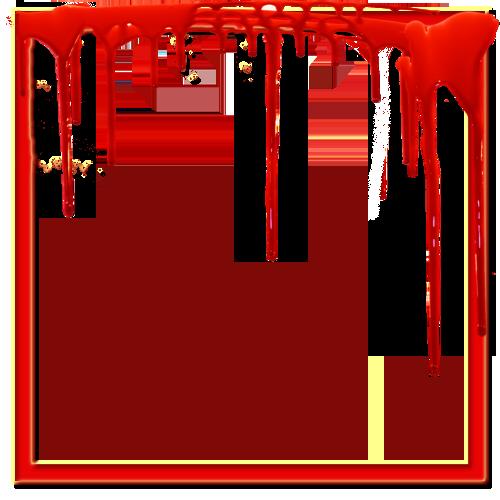 Blood frame png. Red transparent image arts