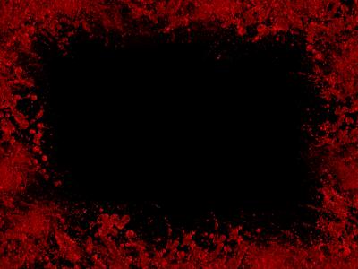 Red transparent arts. Blood frame png