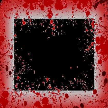 Red transparent images arts. Blood frame png