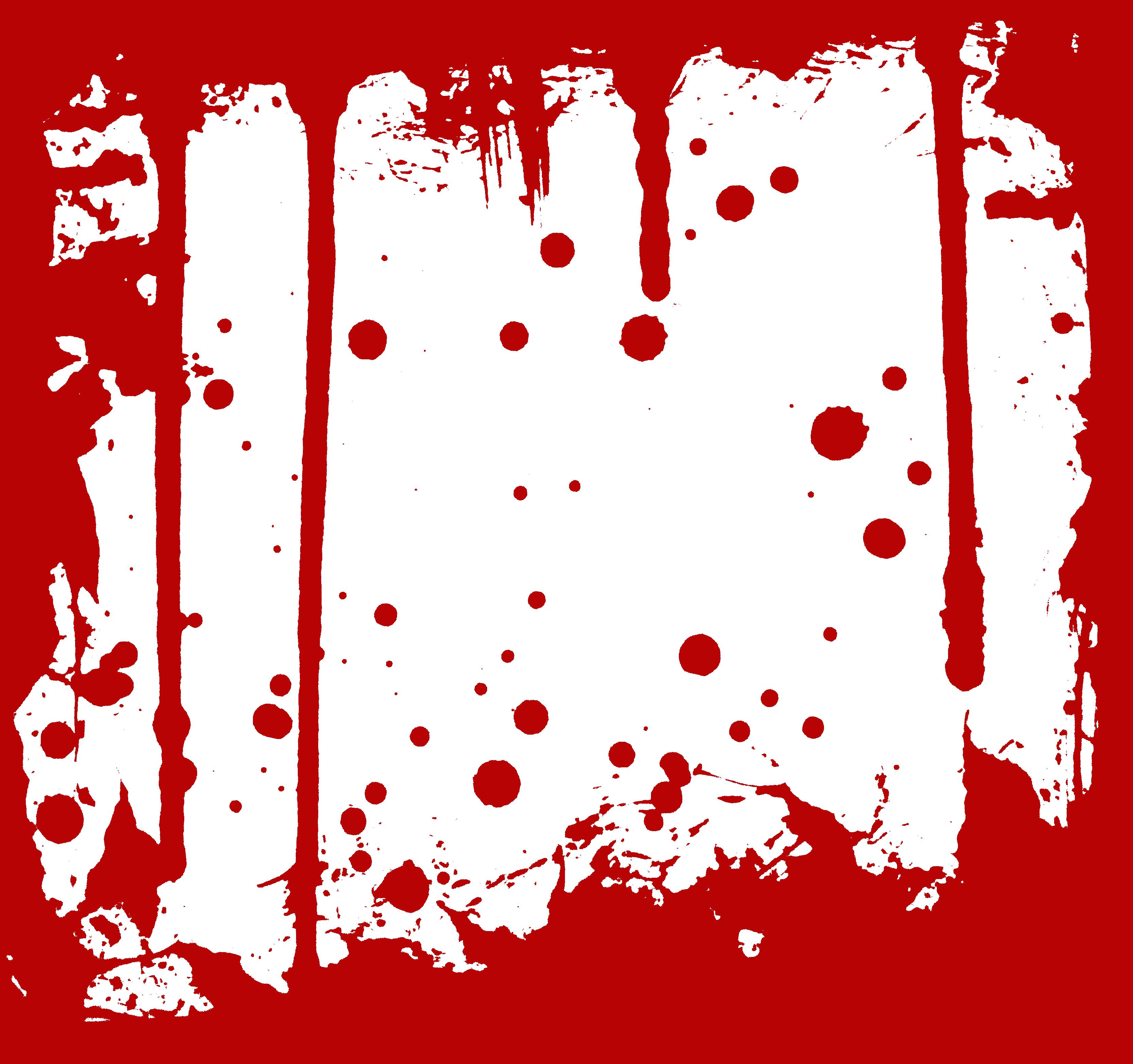 Blood frame png.  frames transparent onlygfx