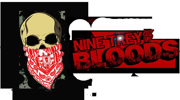Nine trey gangsters archive. Blood gang png