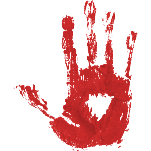 Blood hand png. Images free icons and