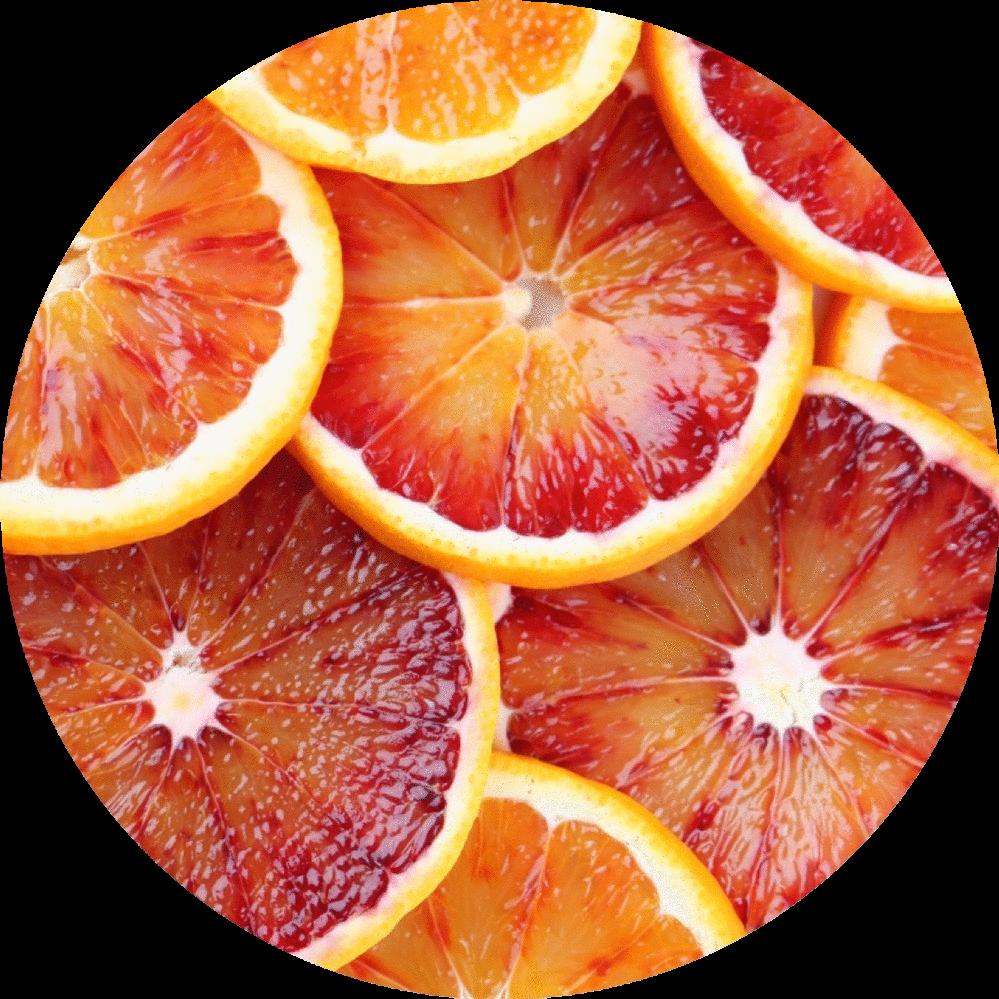 Blood orange png. Essential oil living libations