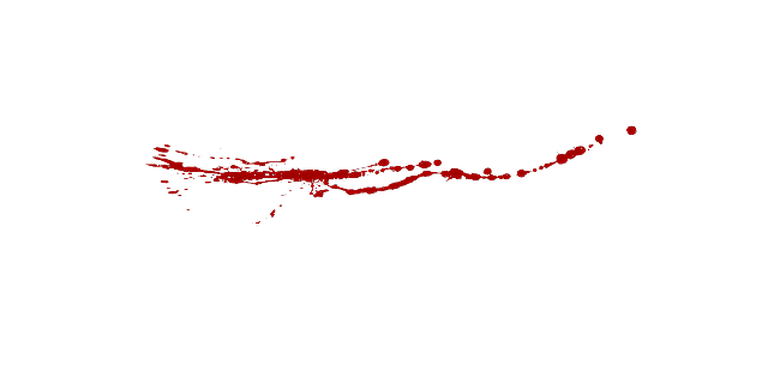 Blood trail png.