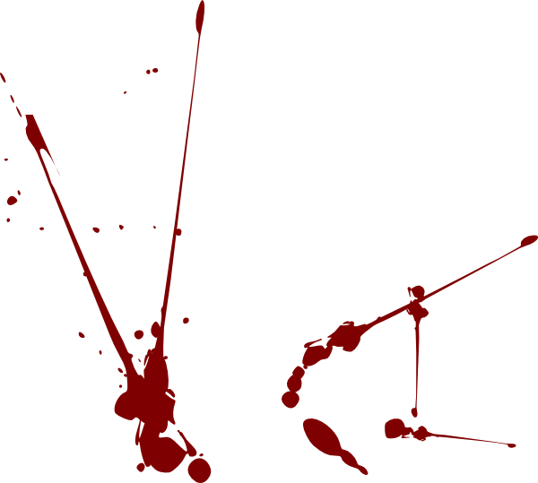 Blood vector png. Splatter clip art at