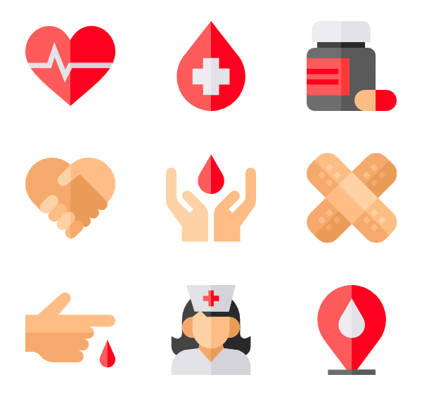 donation icon packs. Blood vector png