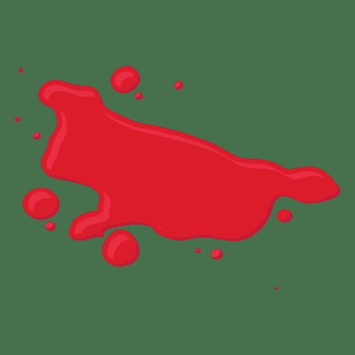 d splatter transparent. Blood vector png