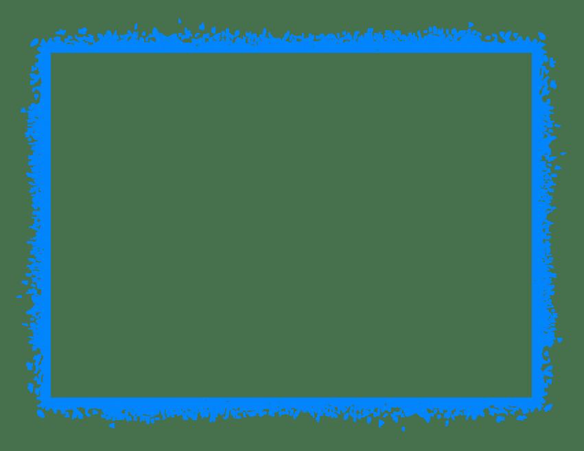 Blue border png. Frame free images toppng