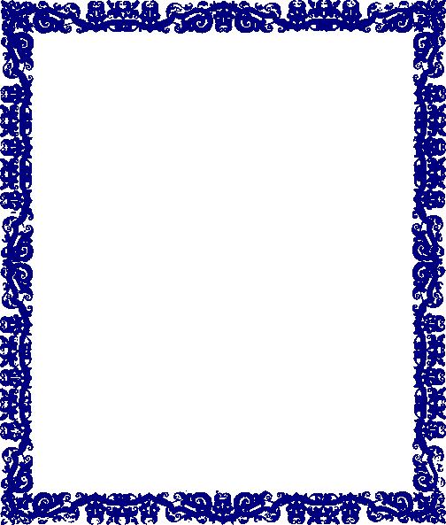 Blue border png. Design clip art at