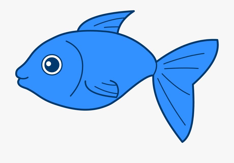Fish clip art free. Blue clipart