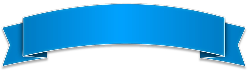 Ribbon regarding light. Blue clipart banner