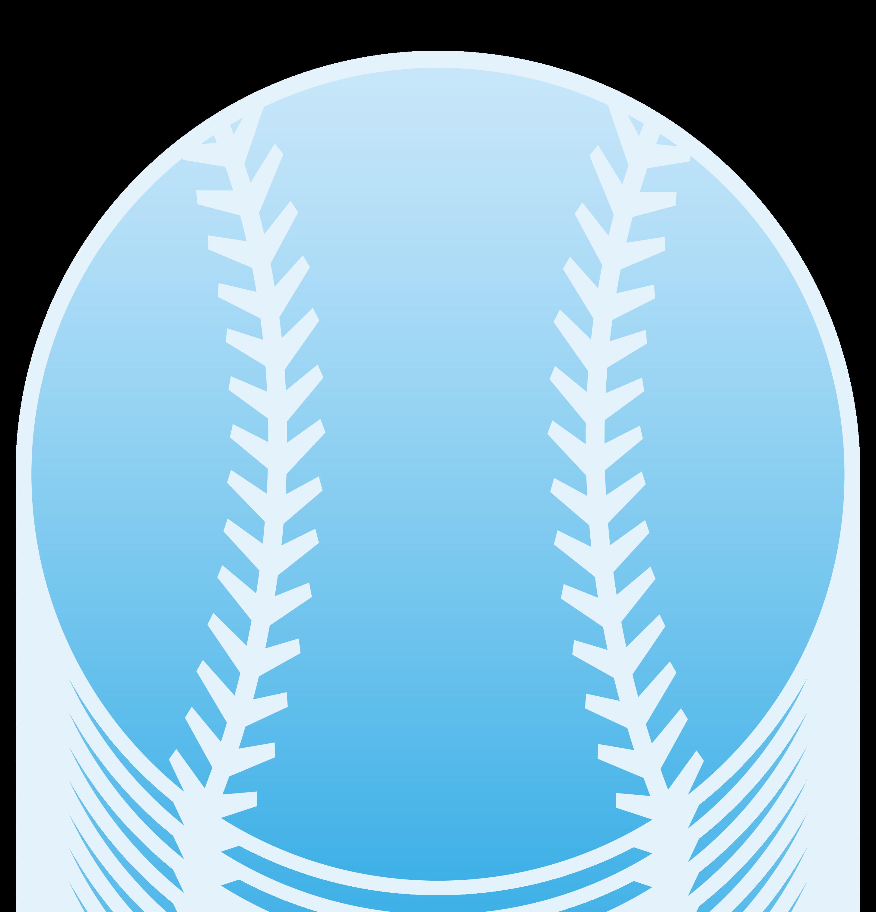 Design free clip art. Blue clipart baseball