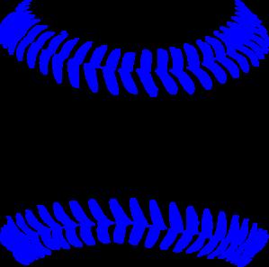 Blue clipart baseball. Stitch clip art at
