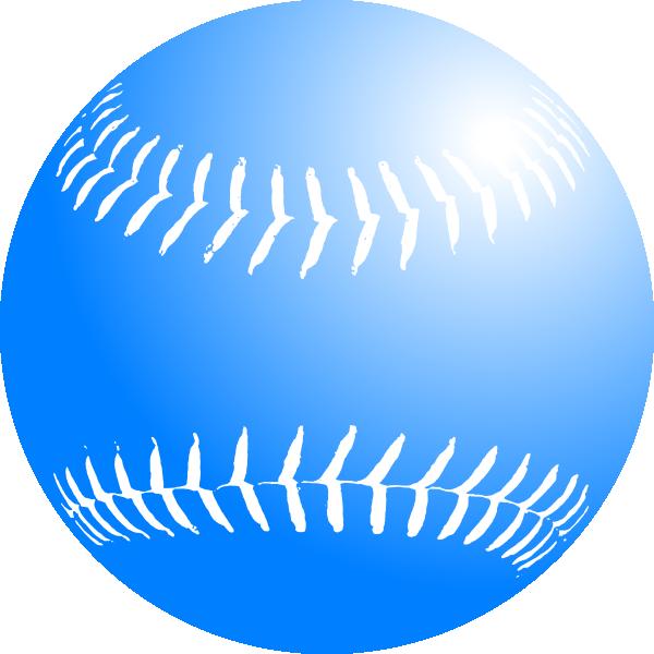 Background clip art library. Blue clipart baseball