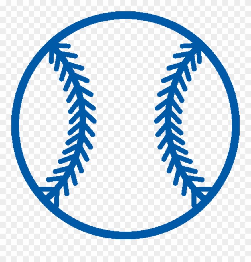 Png half clip art. Blue clipart baseball