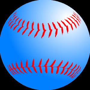 Clip art at clker. Blue clipart baseball