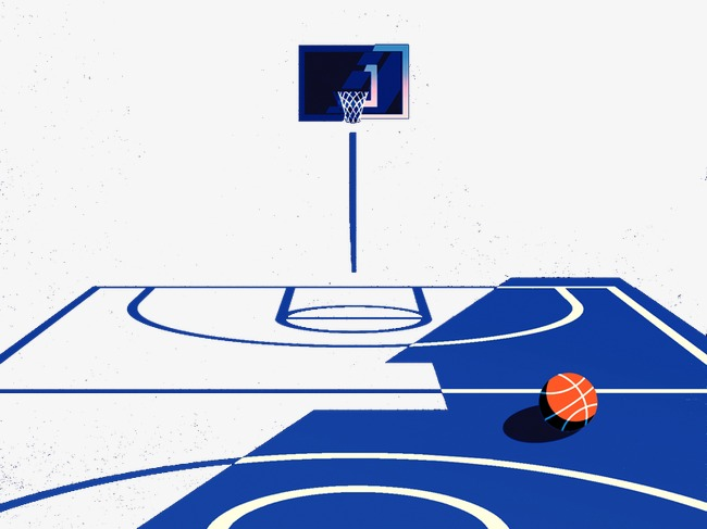 Blue clipart basketball. Court foreign creative material